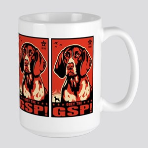 German Shorthaired Pointer! Large Mug