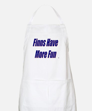 Finns Have More Fun BBQ Apron
