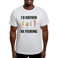 I'd Rather Be Fishing Light T-Shirt