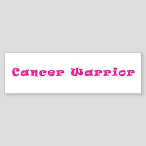 Pink Breast Cancer Warrior 4Megan Bumper Sticker