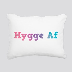 hygge af Rectangular Canvas Pillow