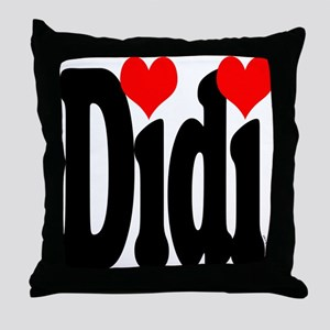 I love Didi Throw Pillow