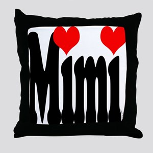 I love Mimi Throw Pillow