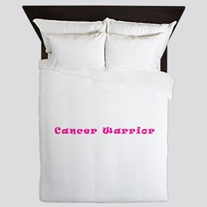 Pink Breast Cancer Warrior 4Megan Queen Duvet