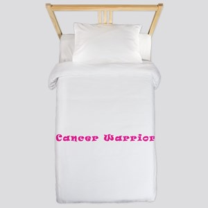 Pink Breast Cancer Warrior 4Megan Twin Duvet Cover