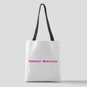 Pink Breast Cancer Warrior 4Meg Polyester Tote Bag
