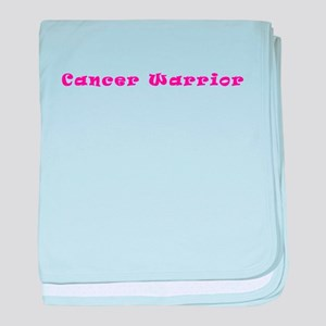 Pink Breast Cancer Warrior 4Megan baby blanket
