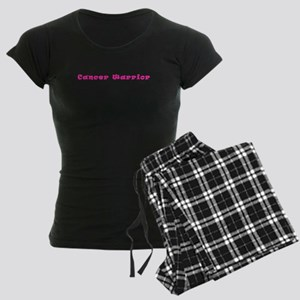 Pink Breast Cancer Warrior 4Megan Pajamas