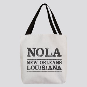 NOLA New Orleans Vintage Polyester Tote Bag