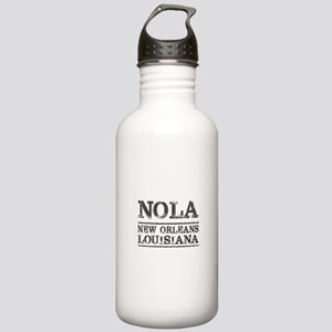 NOLA New Orleans Vinta Stainless Water Bottle 1.0L