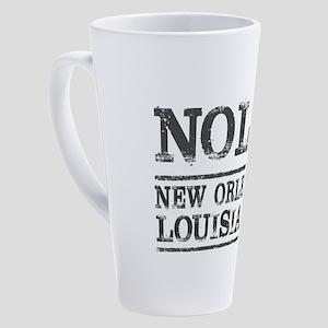 NOLA New Orleans Vintage 17 oz Latte Mug