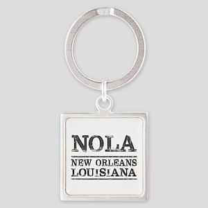 NOLA New Orleans Vintage Keychains