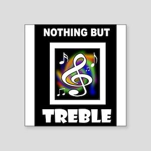 TREBLE TROUBLE Sticker