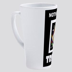 TREBLE TROUBLE 17 oz Latte Mug