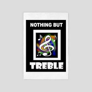 Treble Trouble 4' X 6' Rug