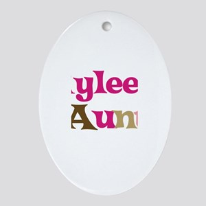 Rylee's Aunt Oval Ornament