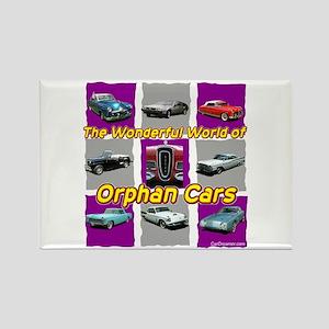 """Wonderful Orphans"" Rectangle Magnet"