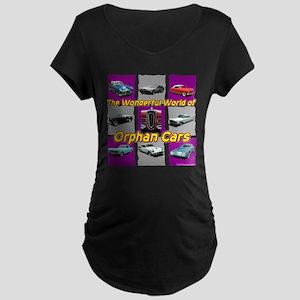 """""""Wonderful Orphans"""" Maternity Dark T-Shirt"""
