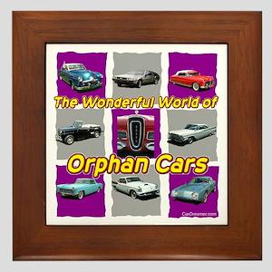 """Wonderful Orphans"" Framed Tile"