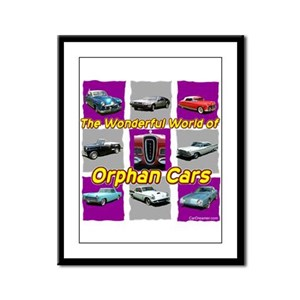 """Wonderful Orphans"" Framed Panel Print"