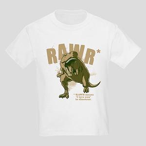 Rawr-Dinosaur-drk T-Shirt