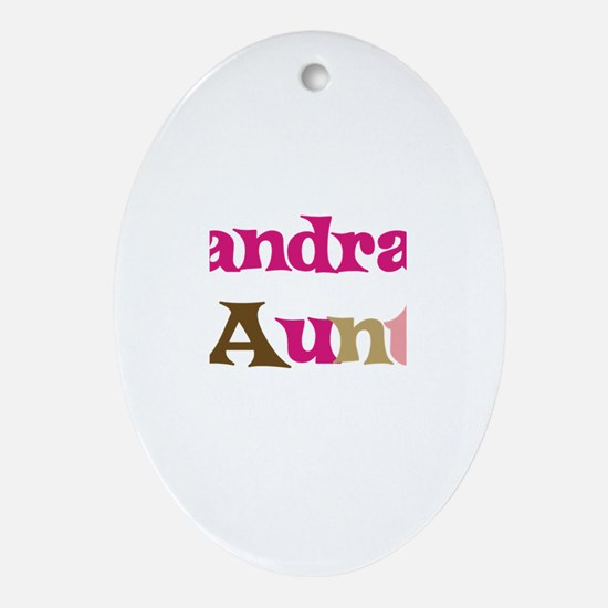 Sandra's Aunt Oval Ornament