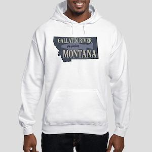 Gallatin River Fly Fishing Sweatshirt