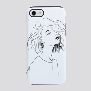 Mystery Girl iPhone 8/7 Tough Case
