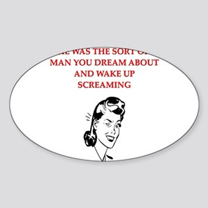 divorce gifts t-shirts Oval Sticker