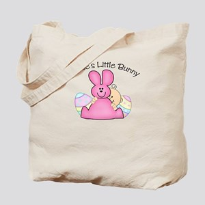 Bubbe's Little Bunny GIRL Tote Bag