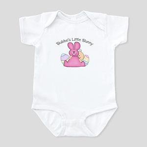 Bubbe's Little Bunny GIRL Infant Bodysuit