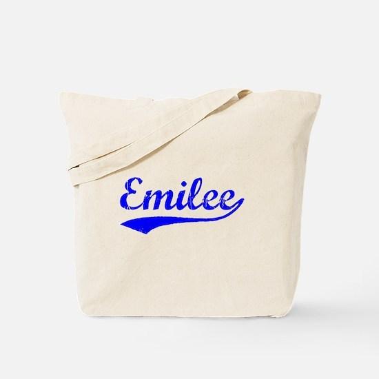 Vintage Emilee (Blue) Tote Bag