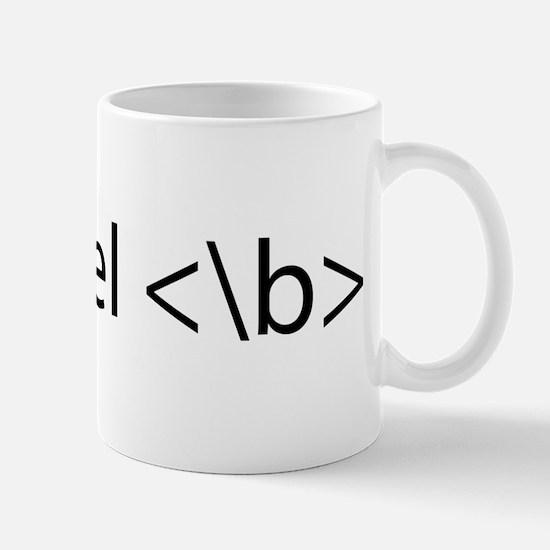 feel bold Mug