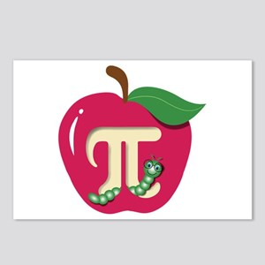 Red Apple Pi Postcards (Package of 8)