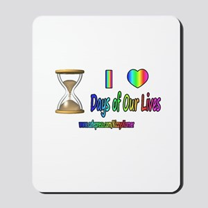 LOVE DAYS OF OUR LIVES Mousepad