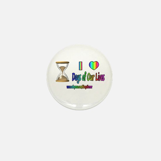 LOVE DAYS OF OUR LIVES Mini Button