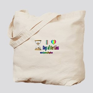 LOVE DAYS OF OUR LIVES Tote Bag