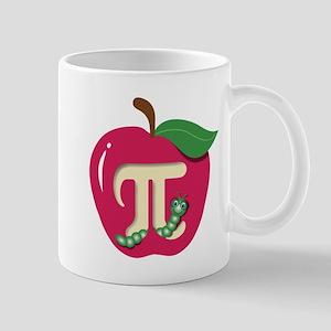 Red Apple Pi Mugs