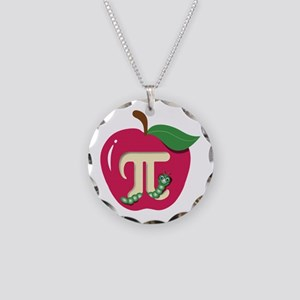 Red Apple Pi Necklace