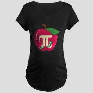Red Apple Pi Maternity T-Shirt