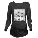 Chemical engineering Dark Long Sleeve Maternity T-Shirt