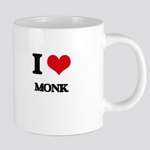 I Love Monk Mugs