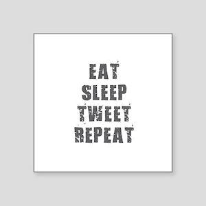 Eat Sleep Tweet Sticker