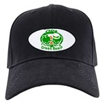 Funny Saint Patrick's Black Cap