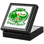 Funny Saint Patrick's Keepsake Box