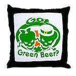 Funny Saint Patrick's Throw Pillow