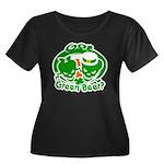 Funny Saint Patrick's Women's Plus Size Scoop Neck