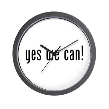 yes we can! Wall Clock