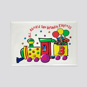 Birthday Express 3rd Rectangle Magnet