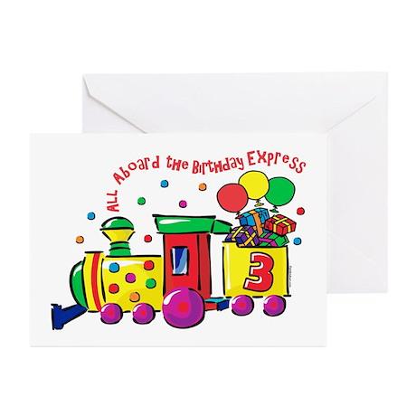 Birthday Express 3rd Greeting Cards (Pk of 10)